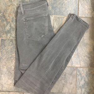 PAIGE grey skinny jeans - size 27